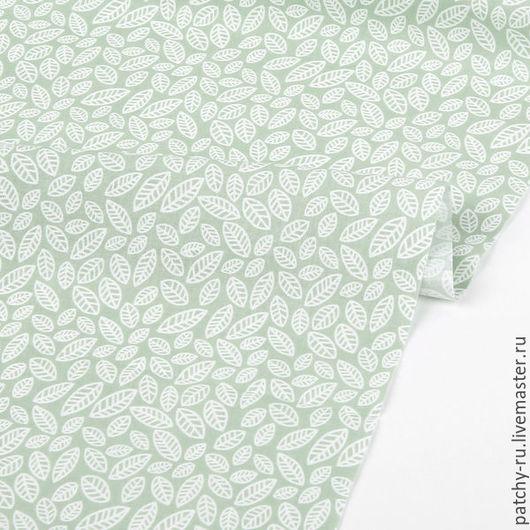 Шитье ручной работы. Ярмарка Мастеров - ручная работа. Купить Dailylike 97 Camellia leaf. Handmade. Ткань хлопок