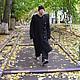 Outer Clothing handmade. Livemaster - handmade. Buy Men's knitted coat 101.Unisex, 50% acrylic