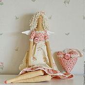 Куклы и игрушки ручной работы. Ярмарка Мастеров - ручная работа Тильда Леонсия. Handmade.