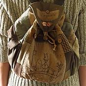 Сумки и аксессуары ручной работы. Ярмарка Мастеров - ручная работа Волшебный Муми-рюкзак. Handmade.