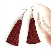 Украшения handmade. Livemaster - original item Earrings brush