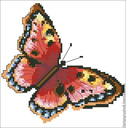 Вышивка ручной работы. Ярмарка Мастеров - ручная работа. Купить Дизайн машинной вышивки Бабочка, формат EXP, ART. Handmade.
