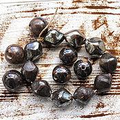 Материалы для творчества handmade. Livemaster - original item Ceramic handmade beads