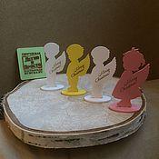 Подарки к праздникам ручной работы. Ярмарка Мастеров - ручная работа Рождественские ангелочки.. Handmade.