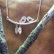 Украшения handmade. Livemaster - original item the pendant boho silver