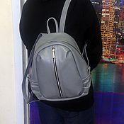 Сумки и аксессуары handmade. Livemaster - original item Backpack leather city 39. Handmade.