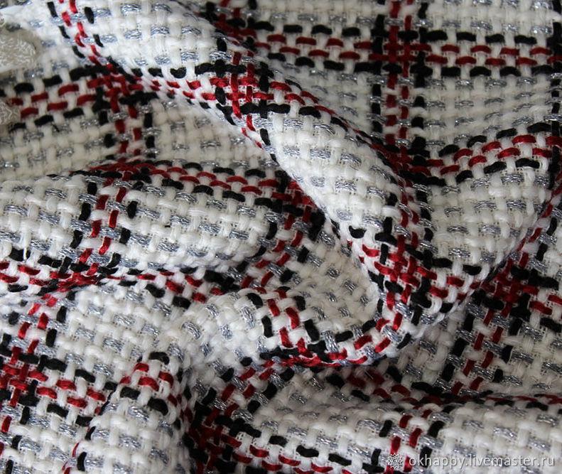 Пальтово-костюмная в клетку Gucci шерсть с акрилом 4 цвета, Ткани, Москва,  Фото №1