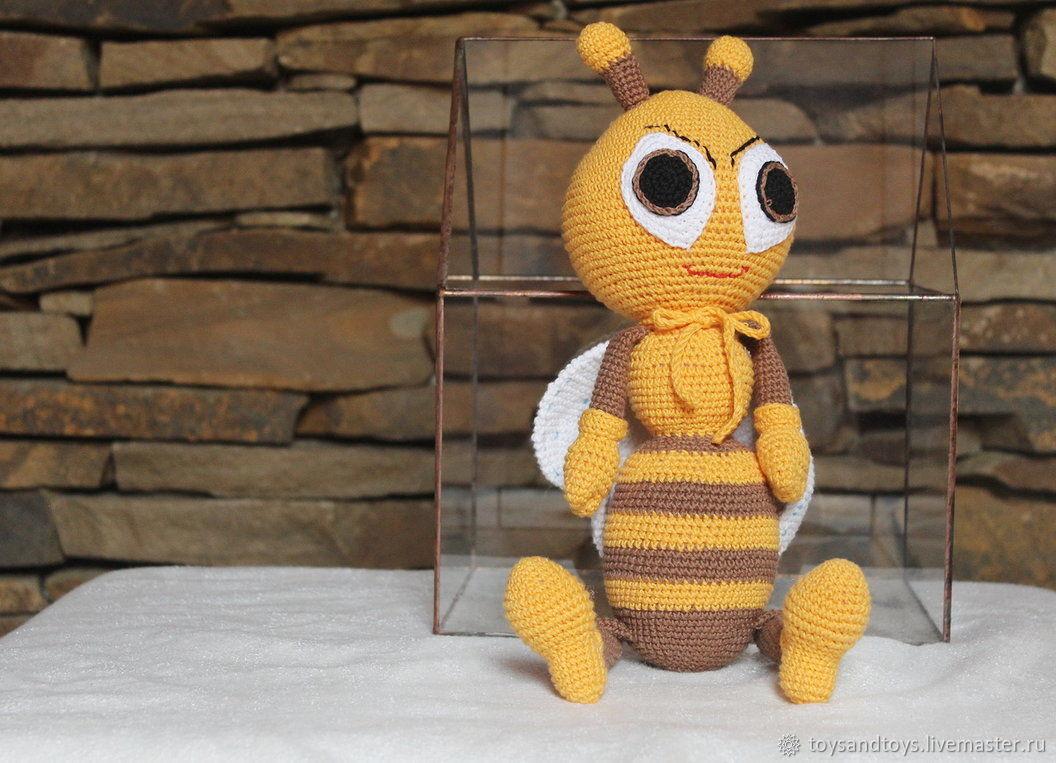 Bee, Stuffed Toys, Gukovo,  Фото №1