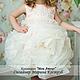 Одежда для девочек, ручной работы. Заказать Платье роза любви-карамель. Marussia / Маруся. Ярмарка Мастеров. Платье летнее