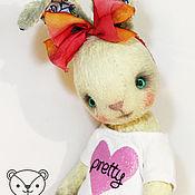 Куклы и игрушки handmade. Livemaster - original item Bunny IKE. Handmade.