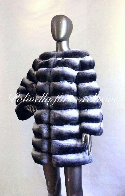 Верхняя одежда ручной работы. Ярмарка Мастеров - ручная работа. Купить Шуба из шиншиллы. Handmade. Шуб, шуба из меха