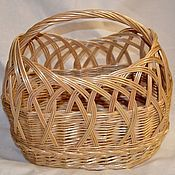 Для дома и интерьера handmade. Livemaster - original item Bag basket wicker. Handmade.