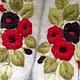Варежки, митенки, перчатки ручной работы. Заказать Варежки с вышивкой Русские узоры. Варежки  Woollen Roses. Ярмарка Мастеров.
