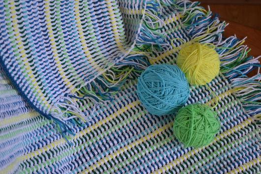 Пледы и одеяла ручной работы. Ярмарка Мастеров - ручная работа. Купить Плед детский. Handmade. Комбинированный, плед детский