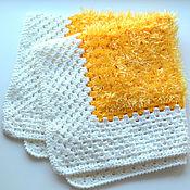 Для домашних животных, handmade. Livemaster - original item Copy of Plaid for home Pets velour cornflower. Handmade.