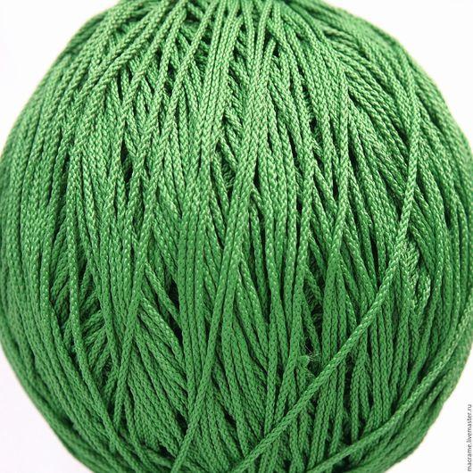 Для украшений ручной работы. Ярмарка Мастеров - ручная работа. Купить Шнур 1,5 мм зеленый полиэфирный. Handmade.