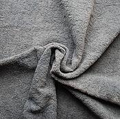 Материалы для творчества ручной работы. Ярмарка Мастеров - ручная работа Плюш Серый завалянный. Handmade.
