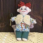 Куклы и игрушки ручной работы. Ярмарка Мастеров - ручная работа Домовенок Сенька. Handmade.