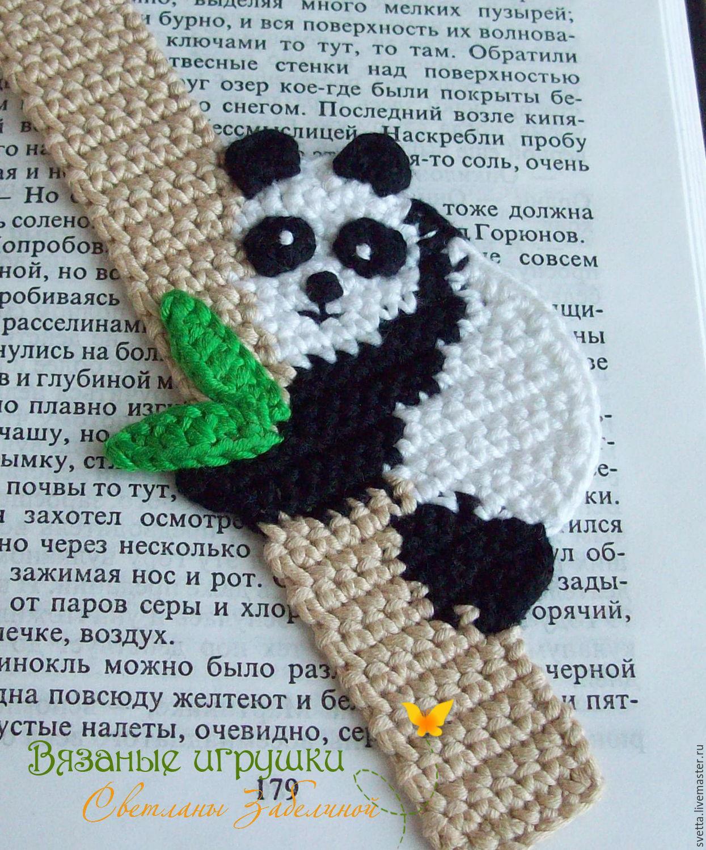 Вязаная панда крючком схема мастер класс