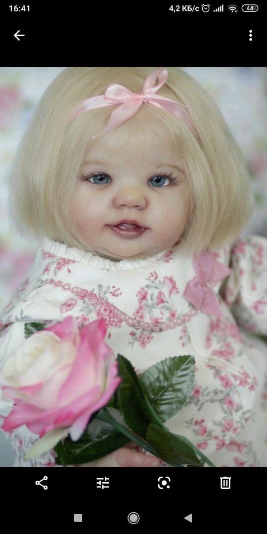 Абигейл улыбается#3, Куклы Reborn, Березовский,  Фото №1