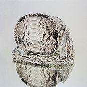 Сумки и аксессуары ручной работы. Ярмарка Мастеров - ручная работа Летняя сумочка из питона BREANTE. Handmade.