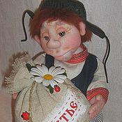 """Куклы и игрушки ручной работы. Ярмарка Мастеров - ручная работа """" Михайло-топотун"""". Кукла в технике скульптурный текстиль. Handmade."""