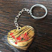 Аксессуары handmade. Livemaster - original item Keychain Love. Handmade.