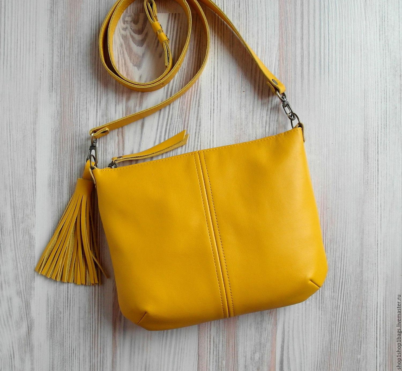 699e568ee31a Женские сумки ручной работы. Ярмарка Мастеров - ручная работа. Купить  Кожаная сумка на плечо ...