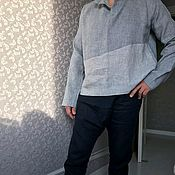 Брюки ручной работы. Ярмарка Мастеров - ручная работа Льняные брюки мужские. Handmade.