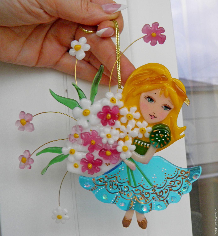 Подарок из стекла на 8 марта доставка цветов сатка