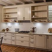 Кухни ручной работы. Ярмарка Мастеров - ручная работа Кухня в стиле прованс из массива под заказ. Handmade.