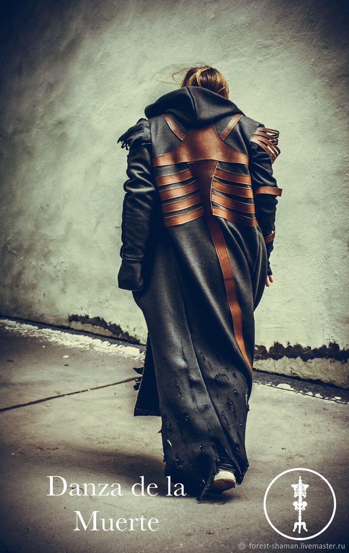 Пальто Дизайнерское Удлиненное Underground Dj, Одежда для субкультур, Москва,  Фото №1