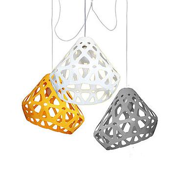 Для дома и интерьера ручной работы. Ярмарка Мастеров - ручная работа ZAHA LIGHT трехцветная трехрожковая люстра 7. Handmade.