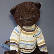 Куклы и игрушки ручной работы. Ярмарка Мастеров - ручная работа Майк - коллекционный мишка тедди. Handmade.