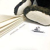 Мишки Тедди ручной работы. Ярмарка Мастеров - ручная работа Ткань на пяточки винтаж. Handmade.