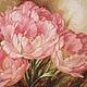 Вышитая картина, вышитая картина тюльпаны, вышивка, вышитые тюльпаны, тюльпаны