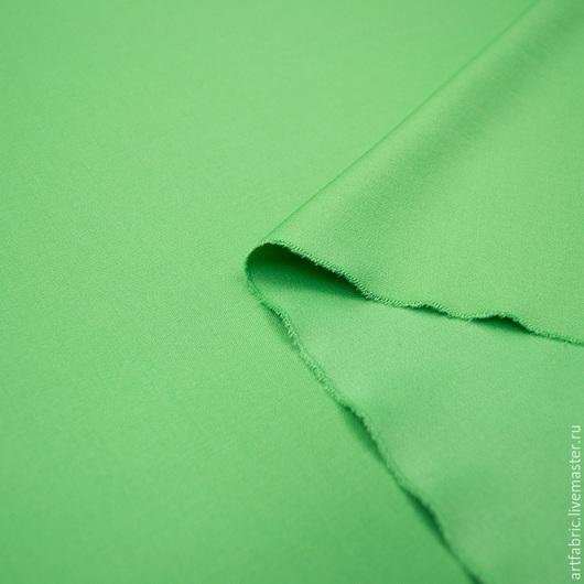 Шитье ручной работы. Ярмарка Мастеров - ручная работа. Купить Шерсть плательная Leitmotiv Super 150 (свежий зеленый, 508) (004492). Handmade.