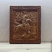 Картины и панно handmade. Livemaster - original item The icon of St. George.. Handmade.