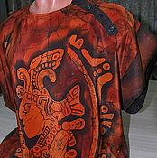 """Одежда ручной работы. Ярмарка Мастеров - ручная работа Рубашка мужская """"Майя"""" из шелка и льна. Handmade."""