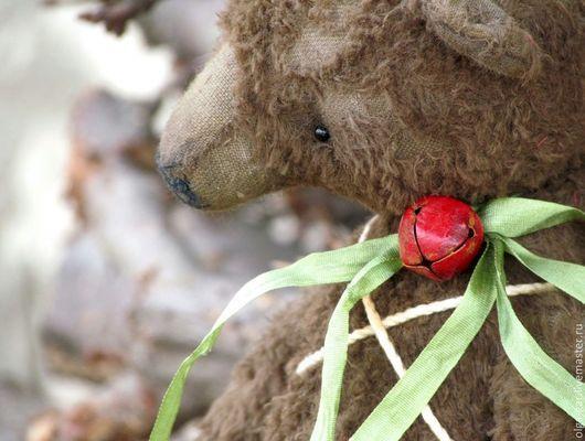 Мишки Тедди ручной работы. Ярмарка Мастеров - ручная работа. Купить Медведь Ангел. Handmade. Коричневый, подарок, вискоза Германия