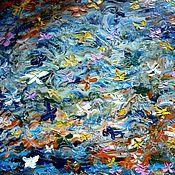 Картины и панно ручной работы. Ярмарка Мастеров - ручная работа Вальс ночных мотыльков.. Картина маслом.. Handmade.