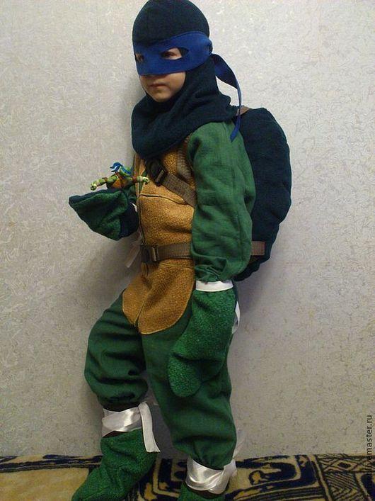 Детские карнавальные костюмы ручной работы. Ярмарка Мастеров - ручная работа. Купить Супер Черепашка. Handmade. Тёмно-зелёный