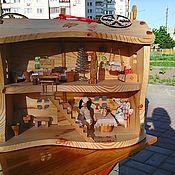 Для дома и интерьера ручной работы. Ярмарка Мастеров - ручная работа Вальдорфский кукольный домик. Handmade.