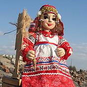 """Куклы и игрушки ручной работы. Ярмарка Мастеров - ручная работа Текстильная кукла """"В ожидании"""". Handmade."""