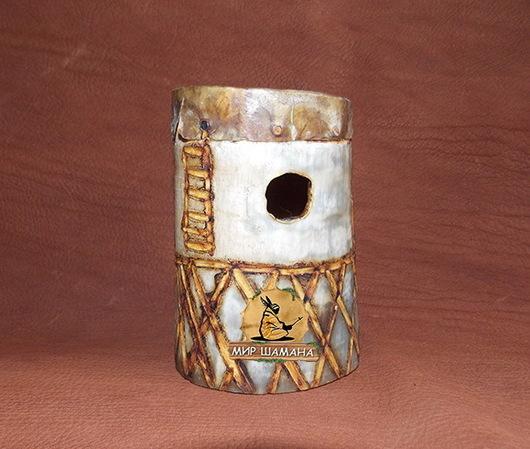 Обереги, талисманы, амулеты ручной работы. Ярмарка Мастеров - ручная работа. Купить Африканский Реку-реку ритуальный. Handmade. Оранжевый