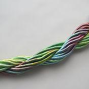 Материалы для творчества handmade. Livemaster - original item Thick viscose cord (no. №46), price per 1 meter. Handmade.