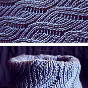 Аксессуары handmade. Livemaster - original item A knitted scarf is a snoot. A storm cloud.. Handmade.