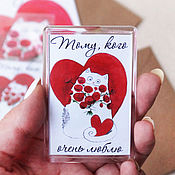 Сувениры и подарки handmade. Livemaster - original item Magnets for lovers in the assortment. Handmade.