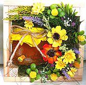 Подарки к праздникам ручной работы. Ярмарка Мастеров - ручная работа Цветочно-медовая фантазия. Handmade.