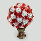 handmade. Livemaster - original item Carnelian flowers